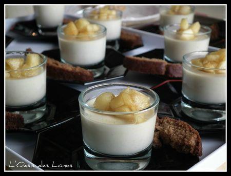 Panna cotta au foie gras@@
