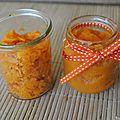 Purée de carottes au thym en 2 façons (à partir de 4 mois)
