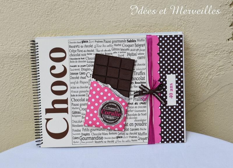 livre d'or gourmandise chocolat - idees et merveilles