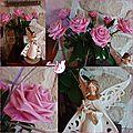 ♥ des roses et l'ange à la colombe pour la paix ♥