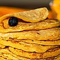 Pourquoi les sapins sont-ils les arbres de noël? et des pancakes de courge muscade aux épices douces et au laezh ribot