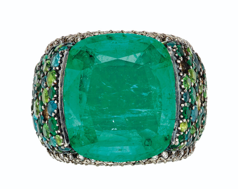 2020_NYR_18990_0257_000(emerald_diamond_and_multi-gem_ring_mounted_by_jar)