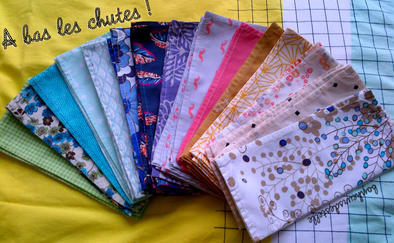 mouchoirs tissu