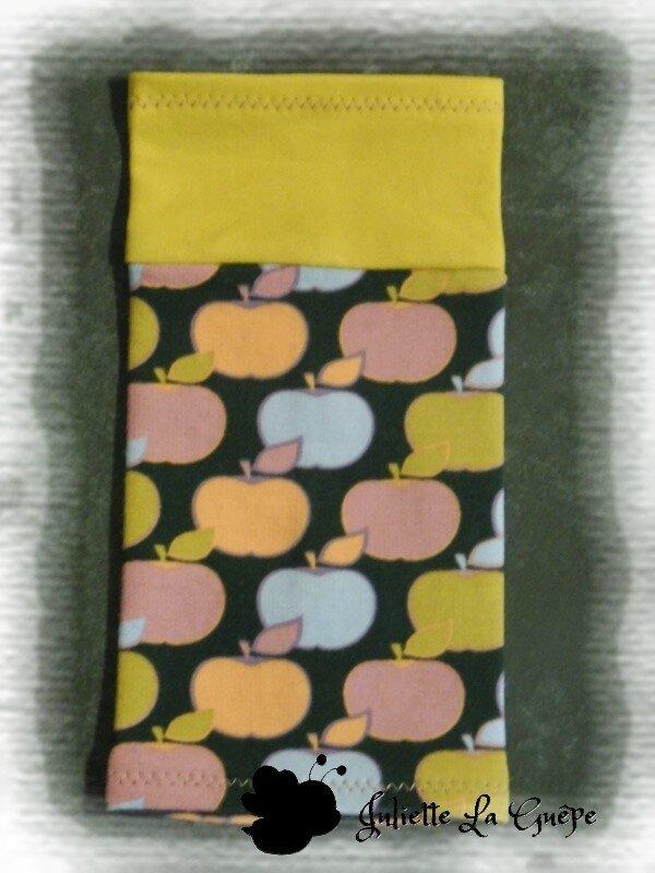 Boléro Issy pommes jaune et guêtres11