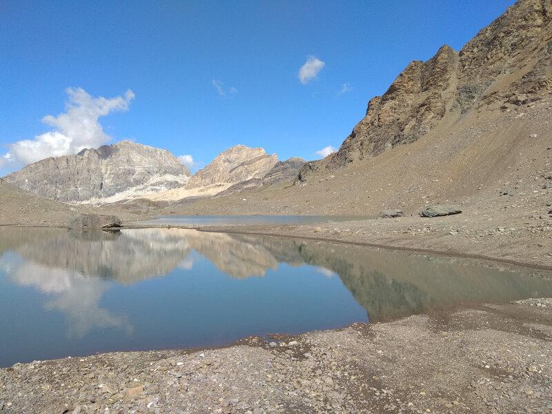 Lac du Glacier des Sources de l'Isère