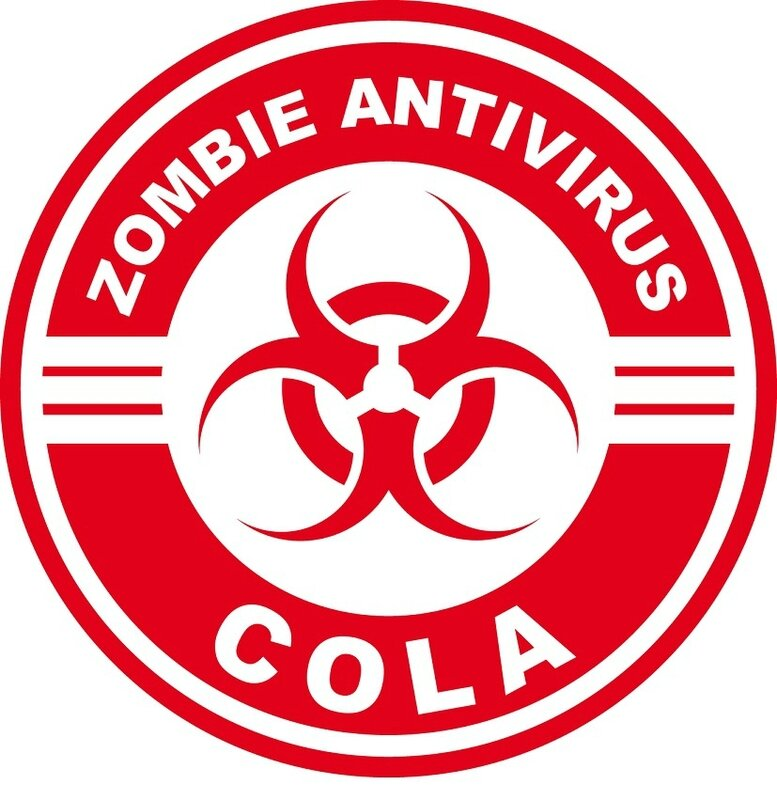zombie cola label soda cola halloween