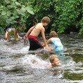 Chasse aux galets en rivière