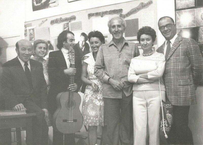 Cérémonie d'hommage à Henriette et Émile Lauga