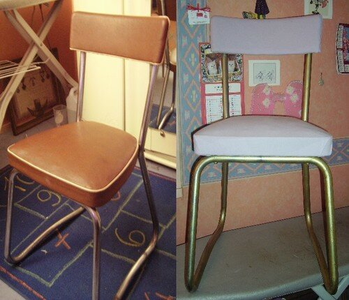 chaise de fille