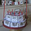 Gâteau Stampin up (1)