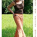 pantalon orange 3