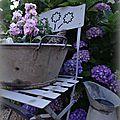 Mise en scène au jardin