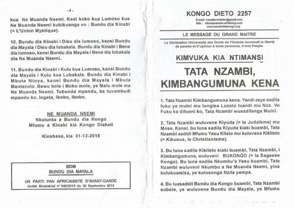 TATA NZAMBI KIMBUNGUMUNUNA KENA a