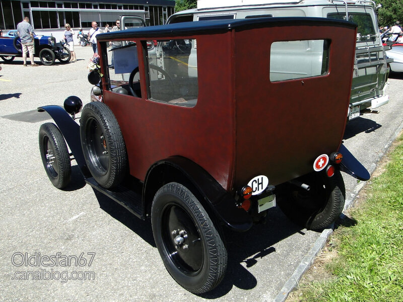 Citroën C3 5HP Trèfle berline Weymann-1924-02