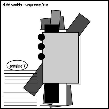 Sketch semainier sem 7