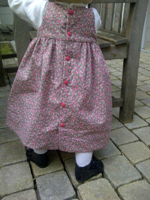 Robe froncée portée (3)