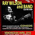 Ray wilson en concert