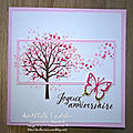 Carte anniversaire papillons pop up - 3 avr 19