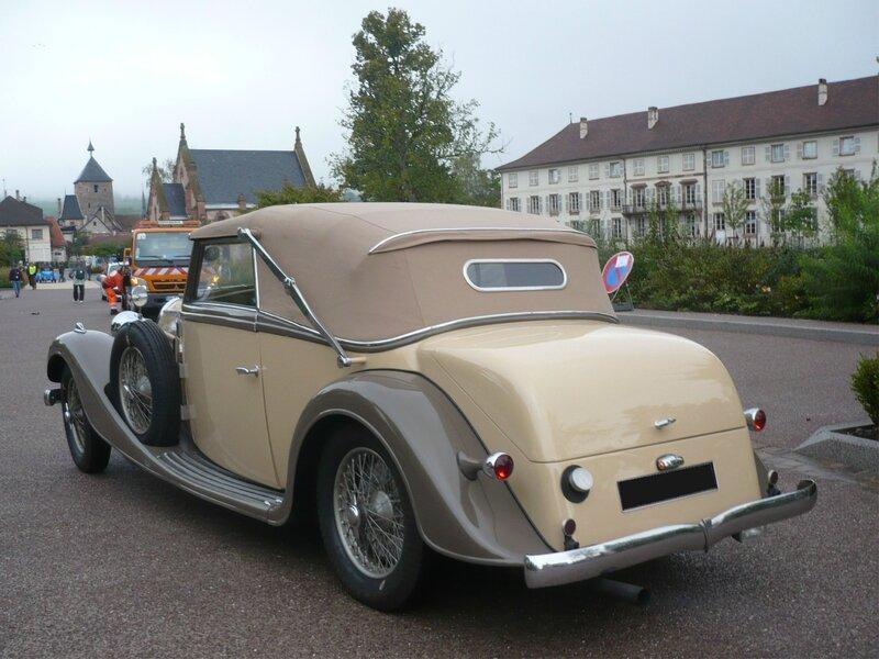 BUGATTI type 57 cabriolet Vanvooren 1935 Molsheim (2)