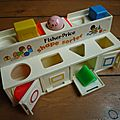 Shape sorter Fisher Price - 1974-1984