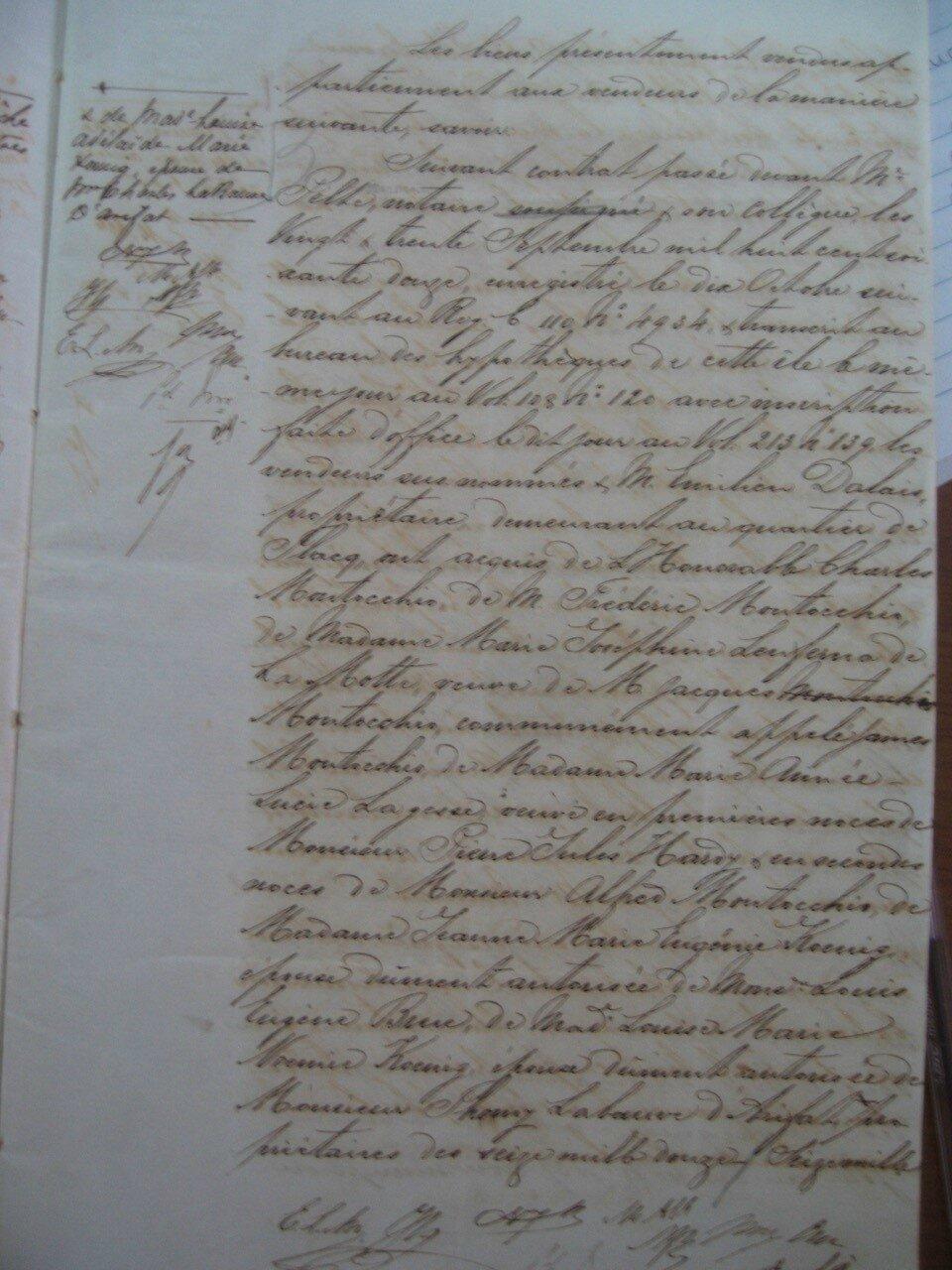Beau Rivage_Contrat de vente 1878 p6_Marie Helene SHIM