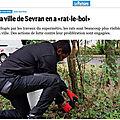 Non, les habitants de sevran ne sont pas les seuls responsables de la prolifération des rats !