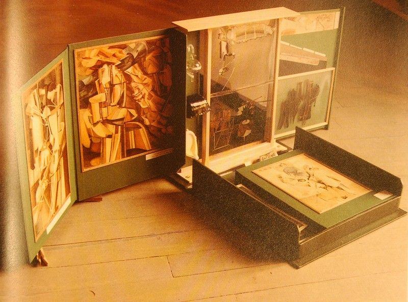 66. Marcel Duchamp, Boite en Valise, 1938.