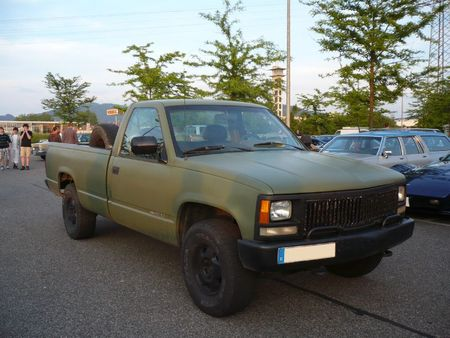 GMC Sierra 1500 pick-up Offenbourg (1)
