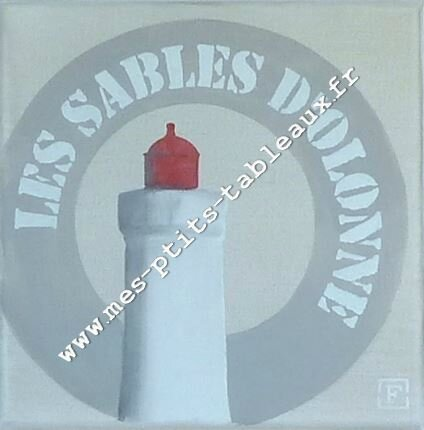 Le phare rouge Coloris mastic