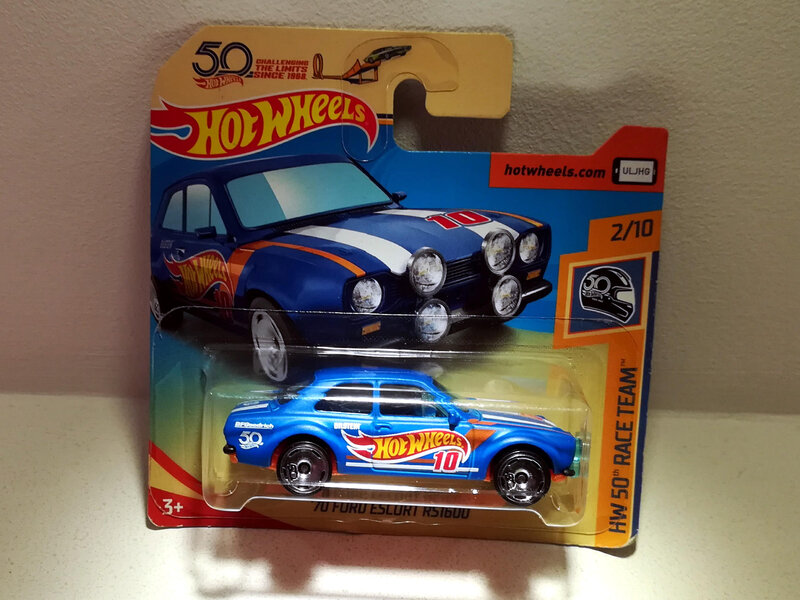 Ford Escort RS1600 de 1970 (Hotwheels)
