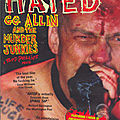 hated gg allin and the murder junkies