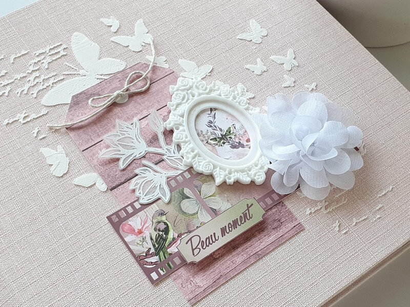 "Album ""Un beau moment"" avec la collection Bloom de Lorelaï Design"