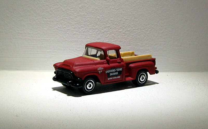 Gmc Stepside de 1957 (Matchbox) 01
