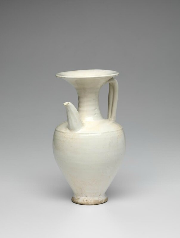 Ewer, Northern Song dynasty, 960 CE-1127, Cizhou type
