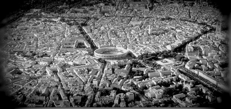 01 Nîmes, Centre ville