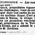 1900 vendredi 07 septembre: vendanges