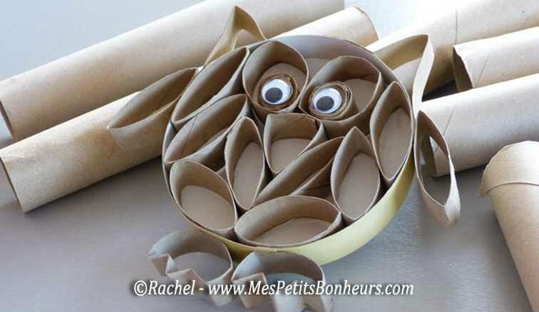 hibou-bricolage-rouleaux-papier-toilette