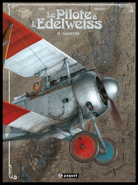 le pilote a l edelweiss tome 1 1