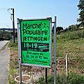 Marche populaire jettingen - 10 kms