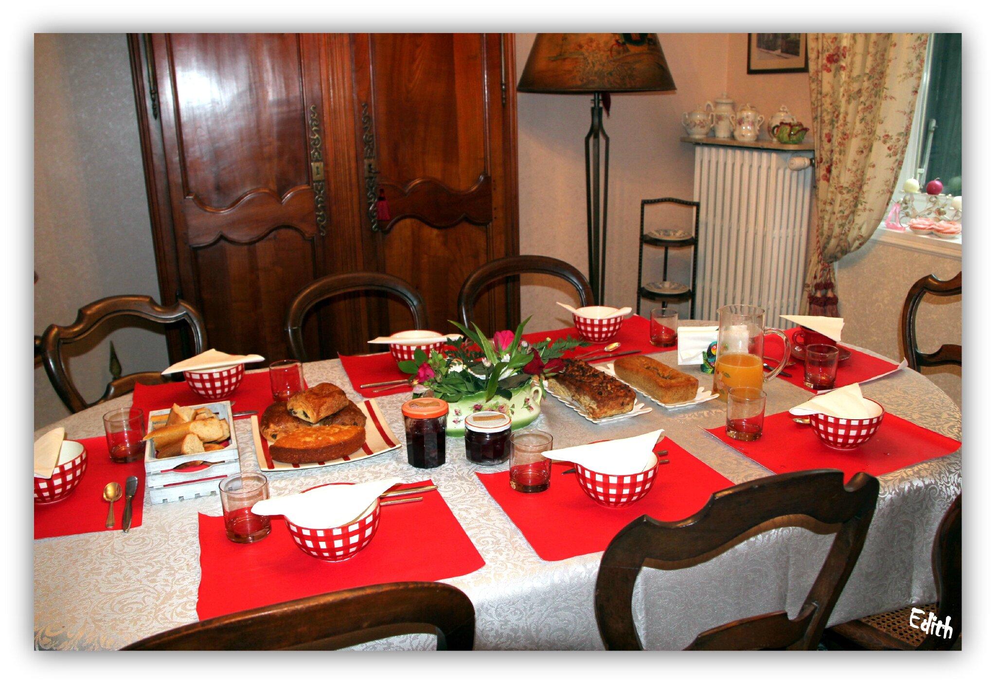 Petit déjeuner Pentecôte 2013