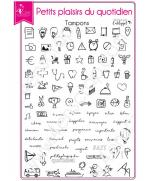 tampon-transparent-scrapbooking-carterie-agenda-petits-plaisirs-du-quotidien