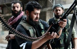 Syrian rebels and Al Qaida