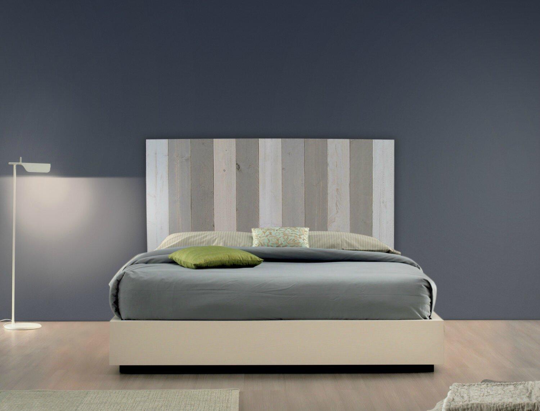 t te de lit en bois brut patines couleurs. Black Bedroom Furniture Sets. Home Design Ideas