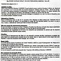 Compte rendu de la séance du conseil municipal du 24 septembre 2014