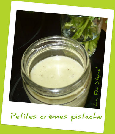 crèmes pistache
