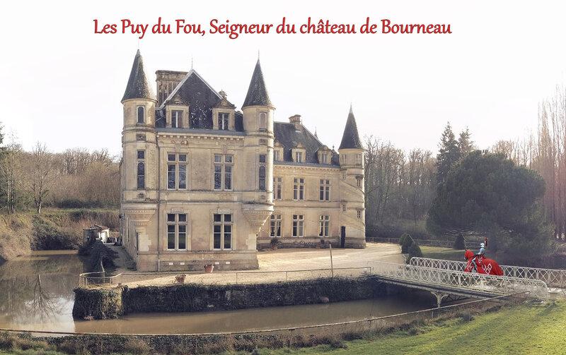 Les Puy du Fou, seigneur du château de Bourneau