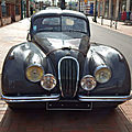 Jaguar xk120 fixed head coupé (1951-1954)