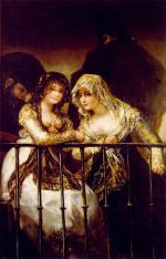 Goya 1828 majas_on_balcony