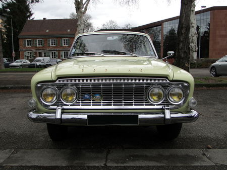 FORD Zodiac Mark III 1963 Retrorencard 1