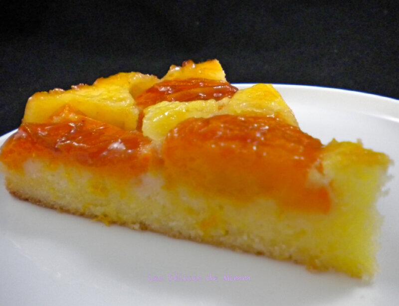 Le gâteau aux abricots super moelleux 2